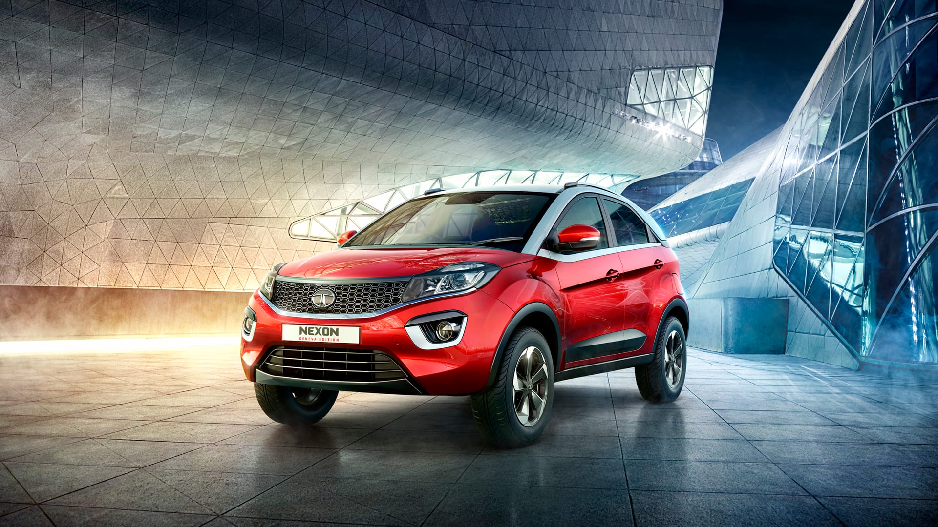 tata motors unveils the nexon sub compact suv at the 2017 geneva motor show find new. Black Bedroom Furniture Sets. Home Design Ideas