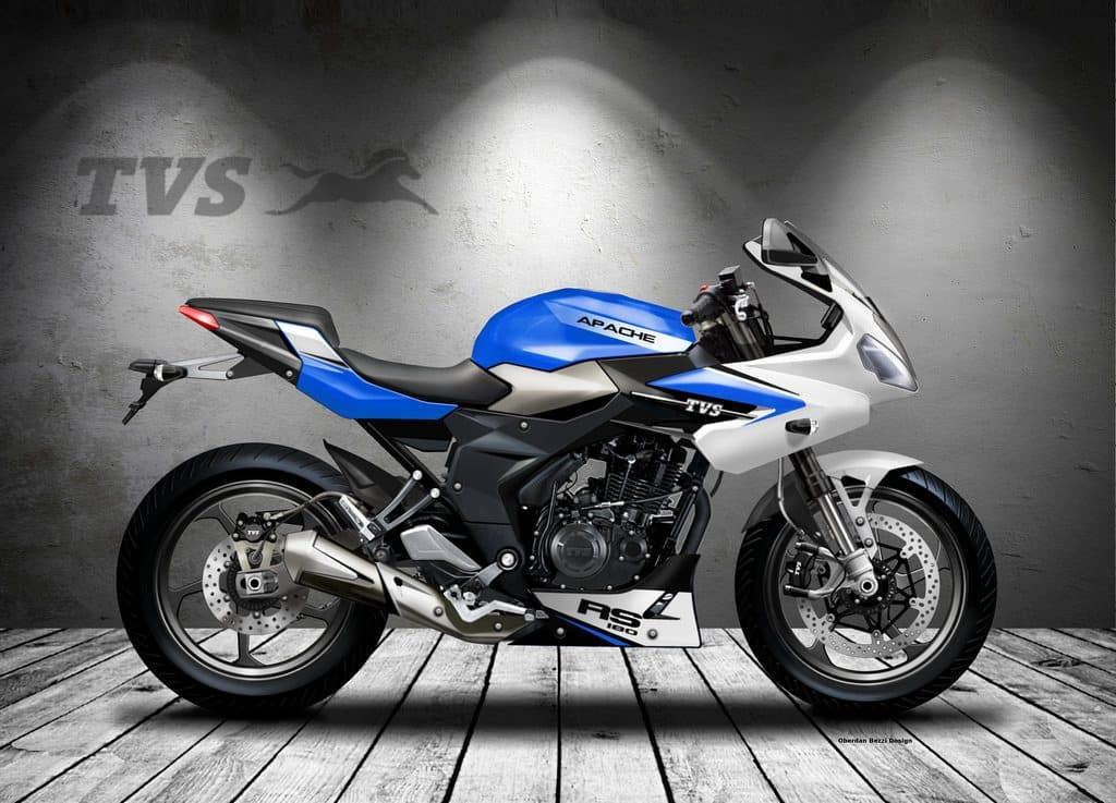 TVS Apache RTR 180 imagined as a RS semi faired concept in ... | 1024 x 737 jpeg 90kB