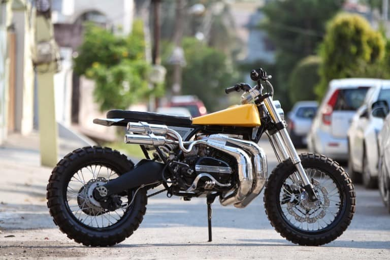 This Modified Yamaha Rd350 Eight Scrambler Will Indeed Tempt You
