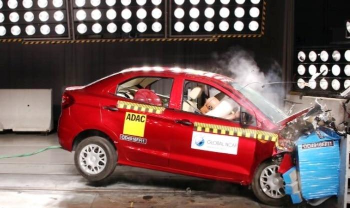 Chevrolet Enjoy, Ford Figo Aspire undergo NCAP crash tests