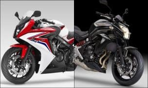 Honda CBR 650F, Kawasaki ER6N being offered at discounts of up to INR 1 lakh