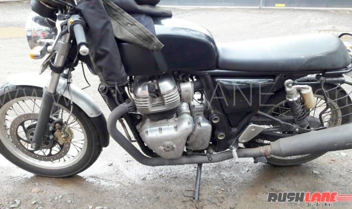 royal enfield 750cc twin cylinder motorcycle spotted again india launch likely by late 2017. Black Bedroom Furniture Sets. Home Design Ideas