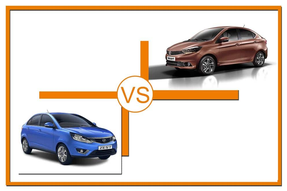 new launched car zestTata Tigor Vs Tata Zest Price features and engine specifications