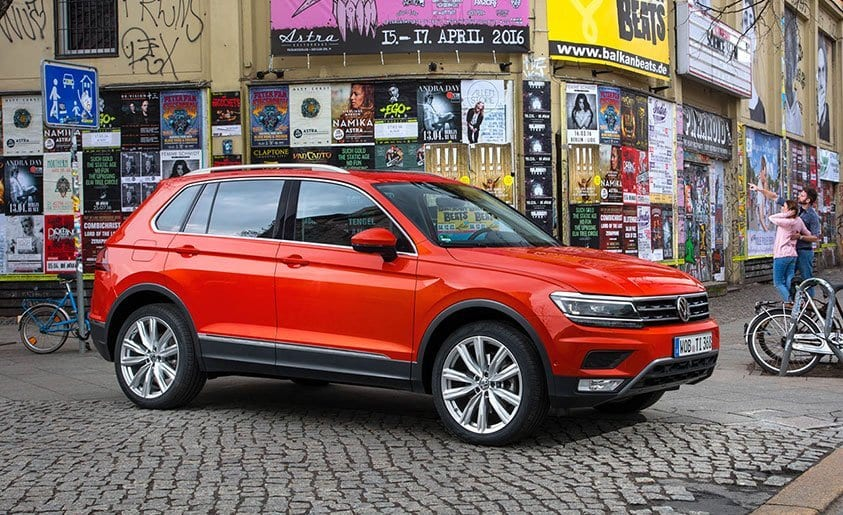 2017 Volkswagen Tiguan variants revealed