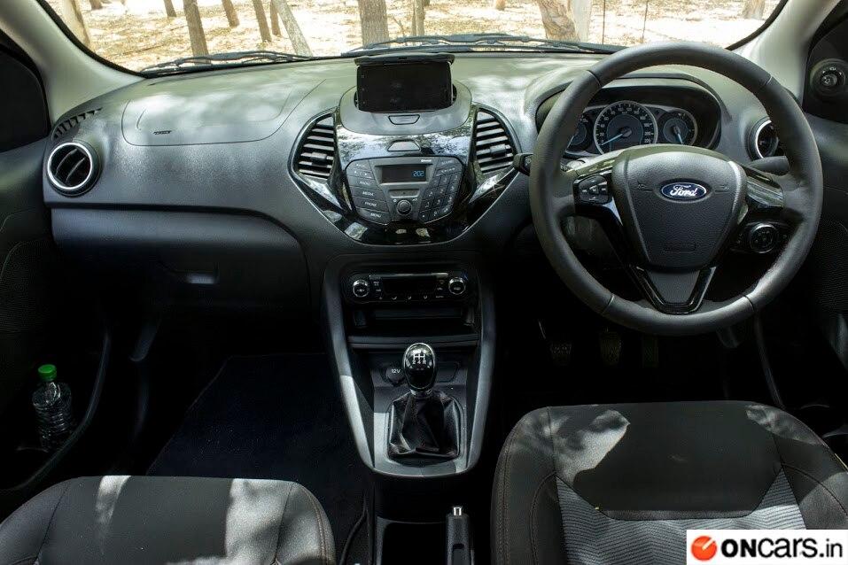 Ford Figo Sport Interior Design