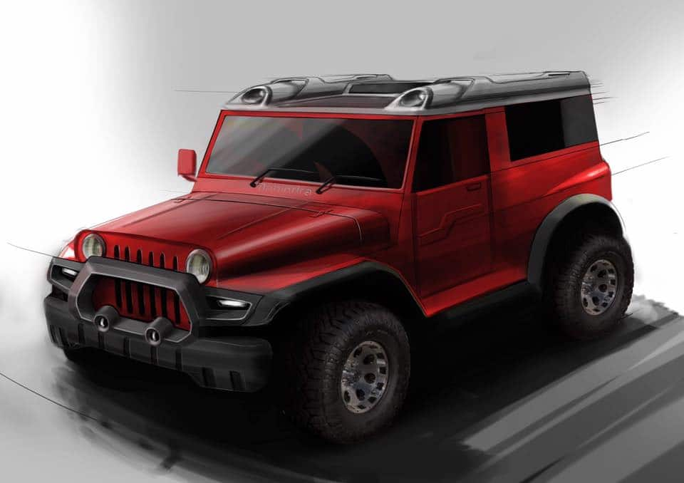 DC Design to bring out a modified Thar, Again!