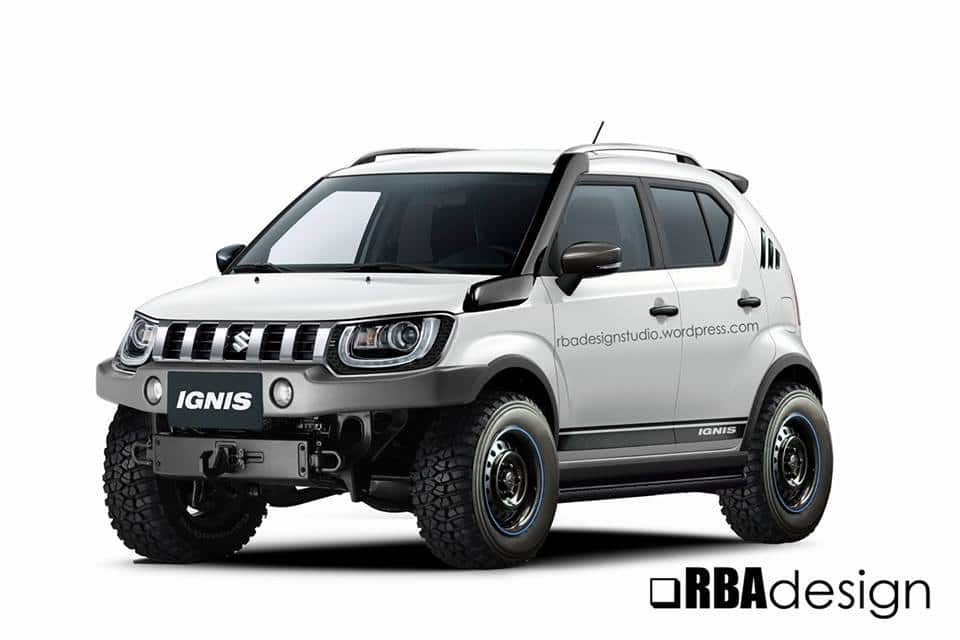 maruti suzuki ignis 4 4 off roader yay or nay find new upcoming cars latest car bikes. Black Bedroom Furniture Sets. Home Design Ideas
