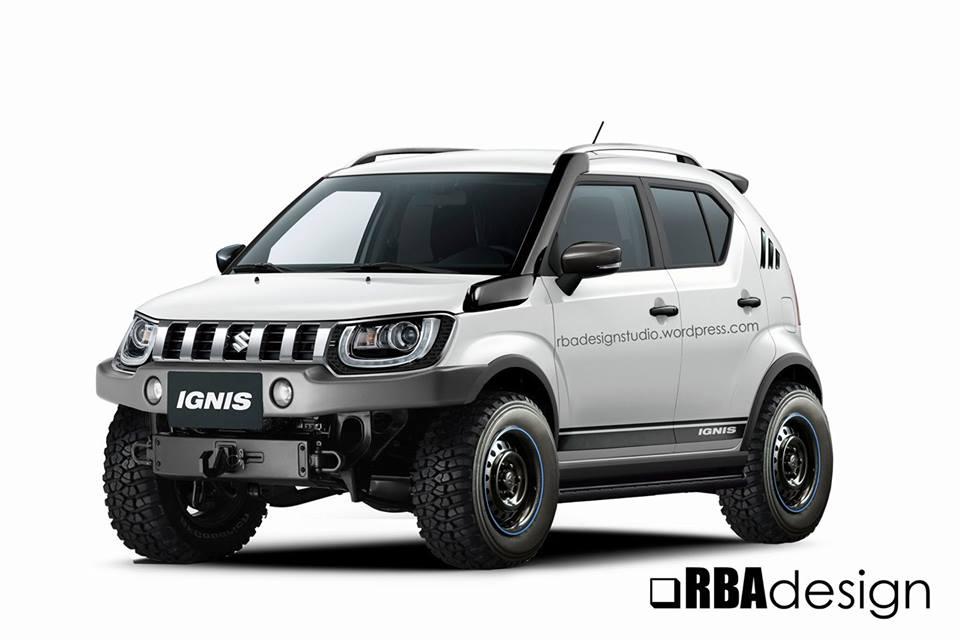 Maruti Suzuki Ignis 4x4 off-roader; Yay or nay?