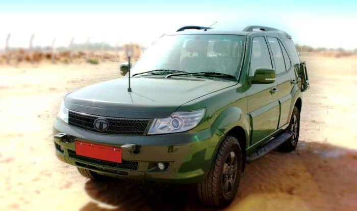 Tata Motors bags order to supply 3192 units of Safari STORME to the Indian Army