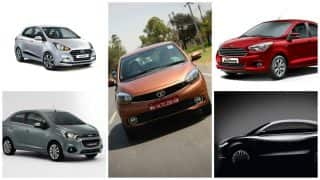 Sub-Compact sedans in India for the year 2017