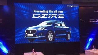 2017 Maruti Suzuki Dzire unveiled in India: Highlights