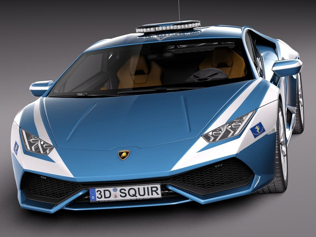 Lamborghini Huracan Joins The Ranks Of Italian Police