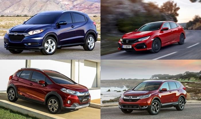Upcoming Honda Cars In India 2017 18 HR V New Gen Civic CR More