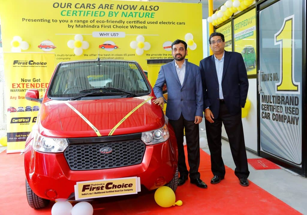 Mahindra First Choice launches India\'s first pre-owned electric ...