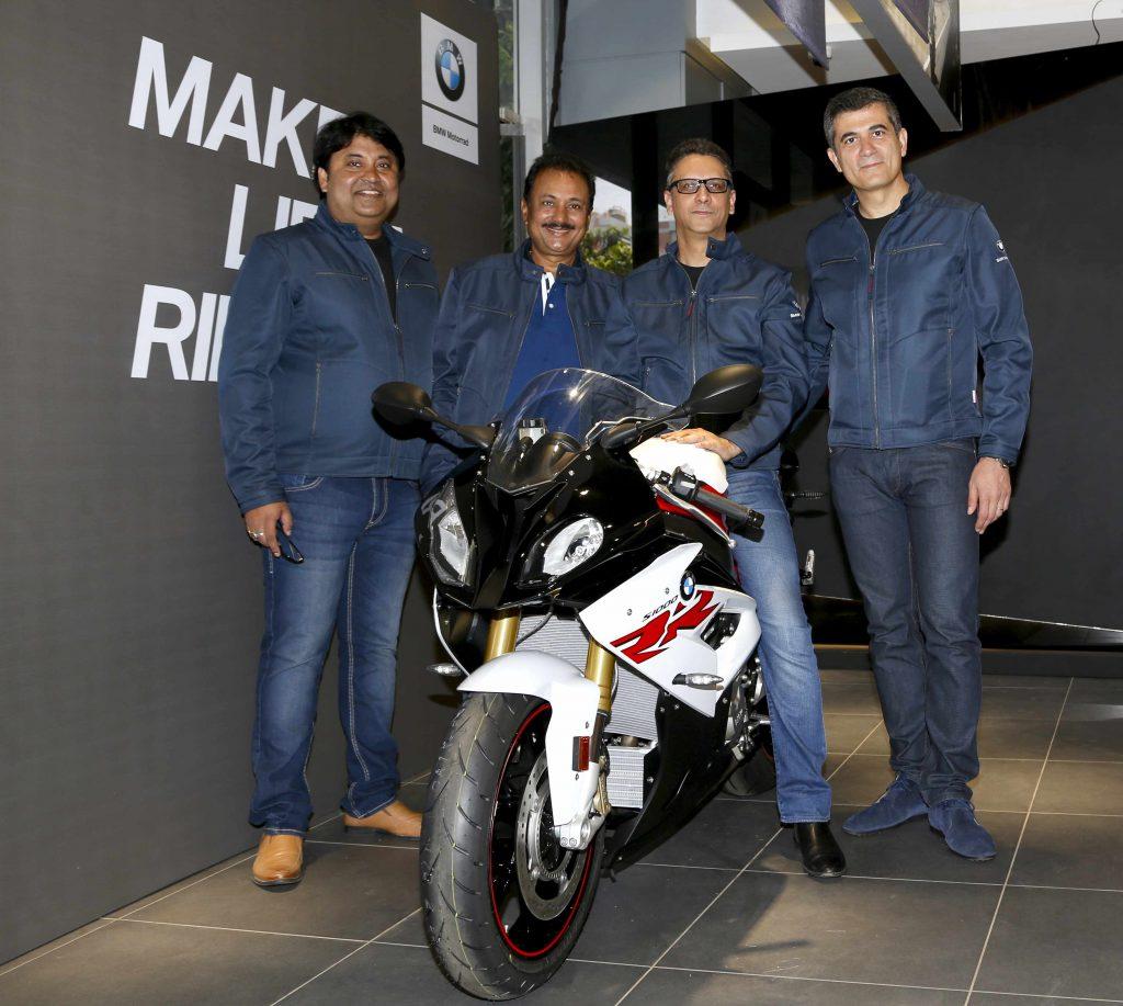 bmw motorrad opens new dealership in ahmedabad under navnit motors