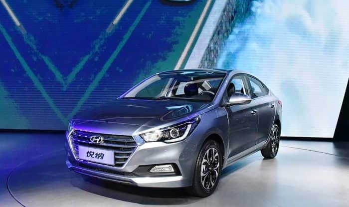 Hyundai Verna 2017 spy images surface alongside Honda City; India launch in August this year