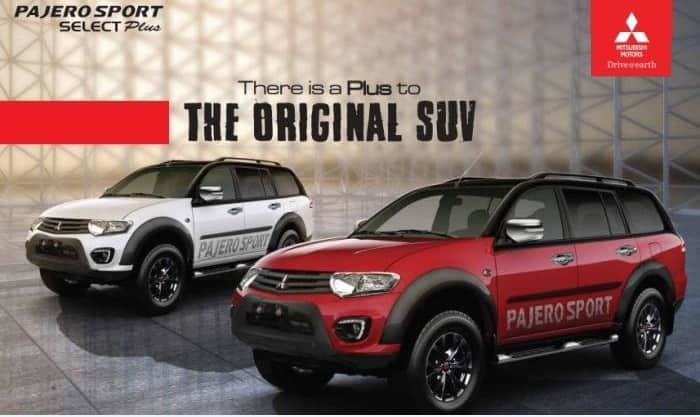 2017 Mitsubishi Pajero Sport Select Plus launched; Price in India starts at INR 30.53 lakh