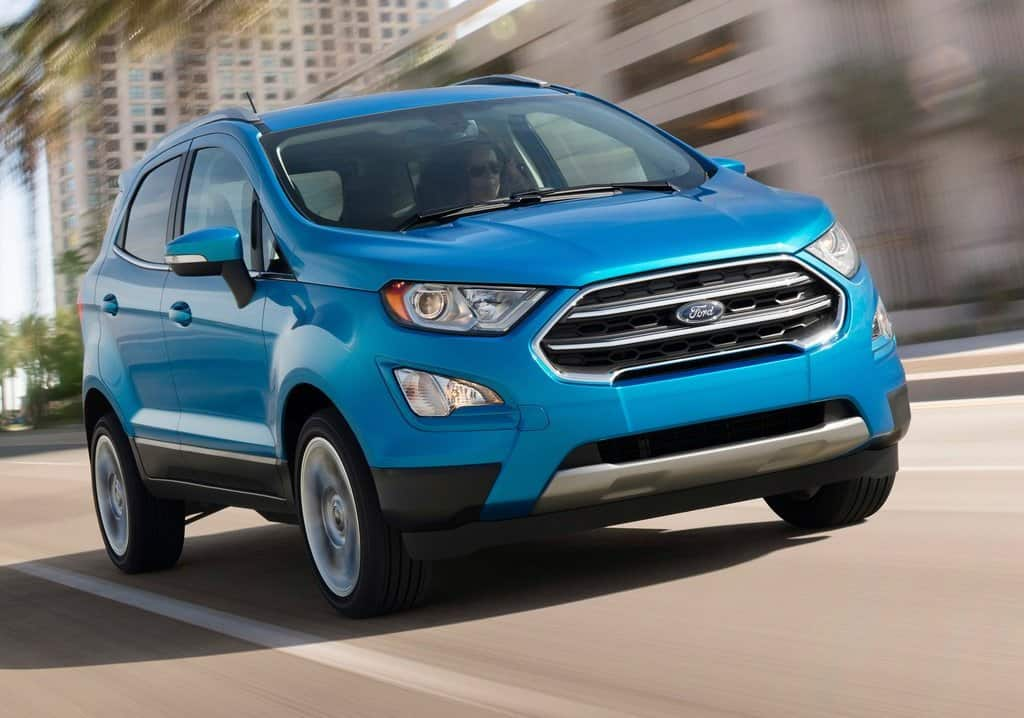 2018 Ford EcoSport Facelift India Launch Likely on November 9; Price, Interior & Images