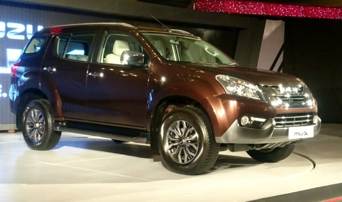 LIVE updates - Isuzu MU-X 2017 launched in India; Price in India starts at INR 23.99 lakh