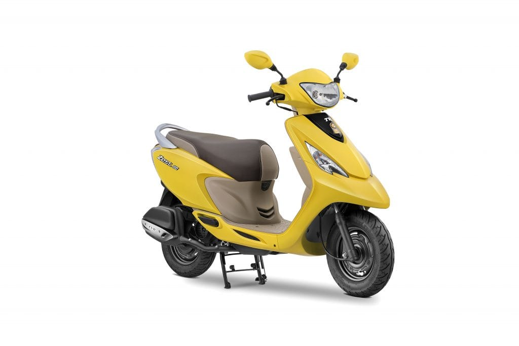 new launched car zest2017 TVS Scooty Zest 110 with premium features launched in India