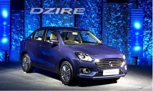 Maruti Dzire 2017 waiting period rise to 3 months; V and Z+ variants in demand