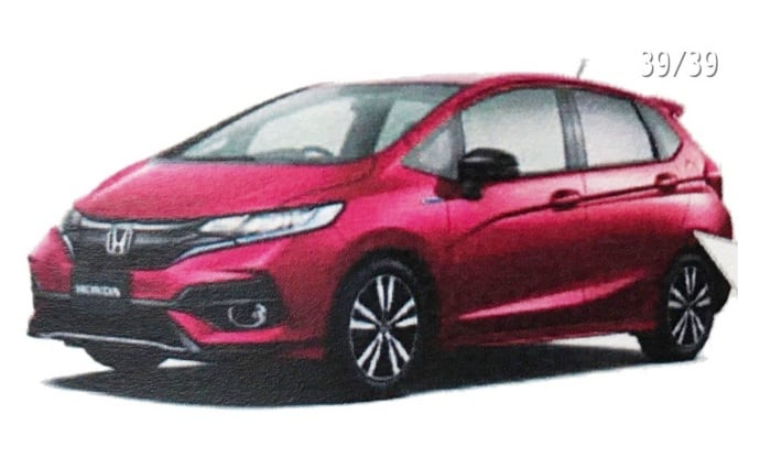 2018 honda jazz india. perfect jazz 2018 honda jazz facelift images leaked india launch likely h2 in honda jazz india a