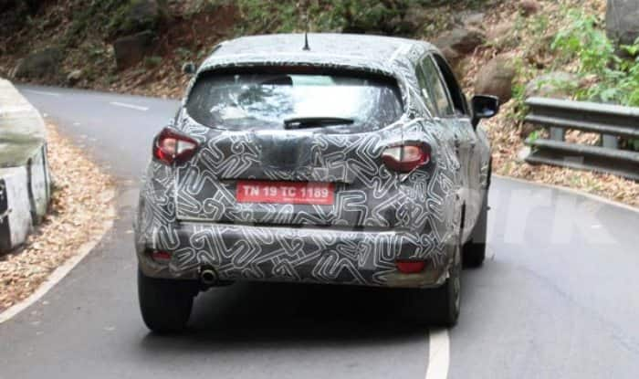 Renault Kaptur (Captur) rear profile