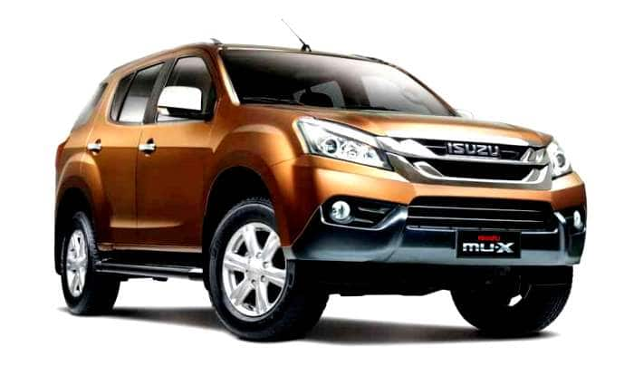 new car launches expectedIsuzu MUX 2017 brochure leaked prior to official launch on May 11