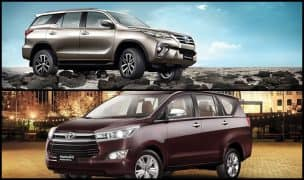 Toyota Fortuner, Innova Crysta, Corolla Altis, Land Cruiser & Others to get Price Hike of up to INR 4 lakh