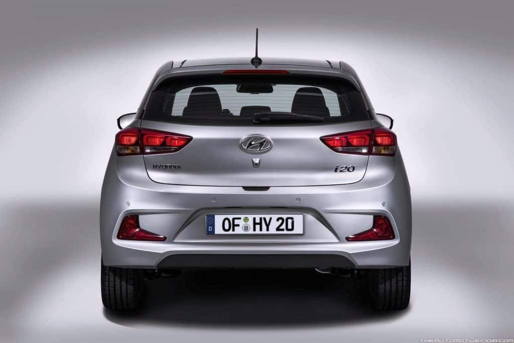 new 2018 hyundai i20 clear spy shots emerge launch date. Black Bedroom Furniture Sets. Home Design Ideas
