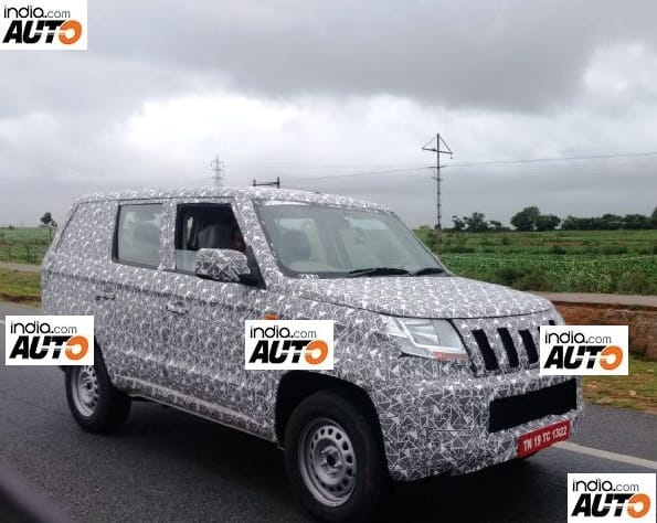 Mahindra TUV500 (TUV300XL) spied testing yet again; exterior details revealed