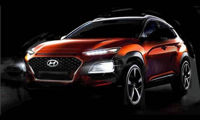 hyundai kona compact suv official images further reveal. Black Bedroom Furniture Sets. Home Design Ideas