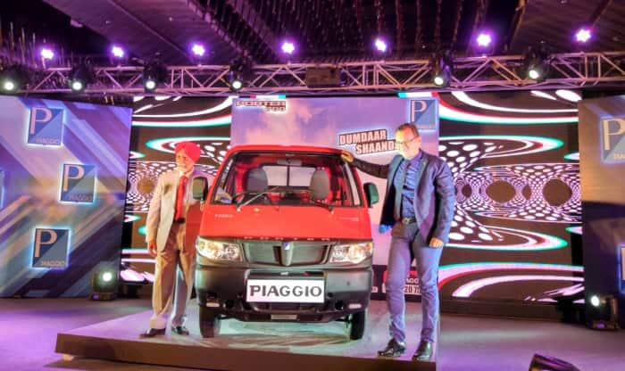 next generation piaggio porter 700 launched; priced in india at