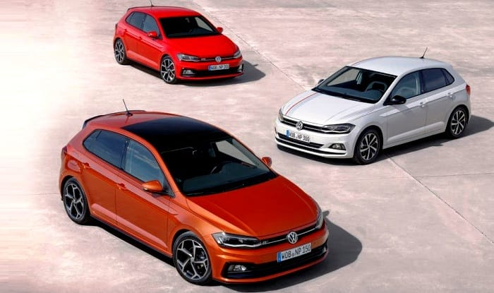 volkswagen polo 2018 r line gti variants revealed. Black Bedroom Furniture Sets. Home Design Ideas