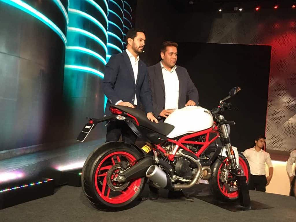 Ducati launches Monster 797 & Multistrada 950, Aims To Double Numbers In India