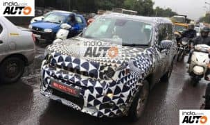 New spy images of Jeep Renegade surface; Price in India, launch date & interior