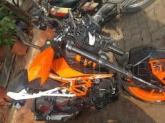 KTM 390 Duke 2017 involved in high-speed crash; 15 year old loses life