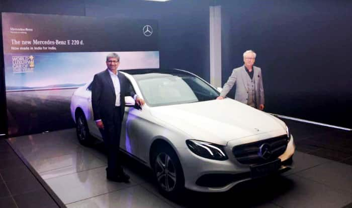 Mercedes Benz E220d launched; Priced in India at INR 57.14 lakh
