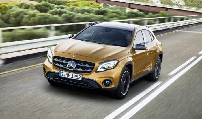 Mercedes benz gla facelift india launch live streaming for Mercedes benz gla india