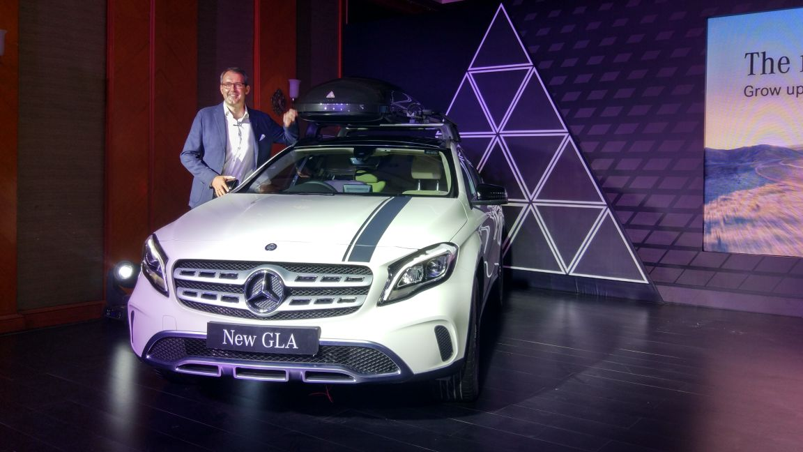 2017 Mercedes-Benz GLA facelift launched; Price in India starts from INR 30.65 lakh