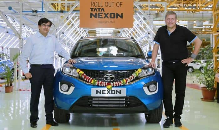 Tata Motors roll out first batch of 5-seater SUV Nexon