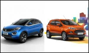 Tata Nexon vs Ford EcoSport Comparison; Price in India, Features, Engine Specs, Dimension