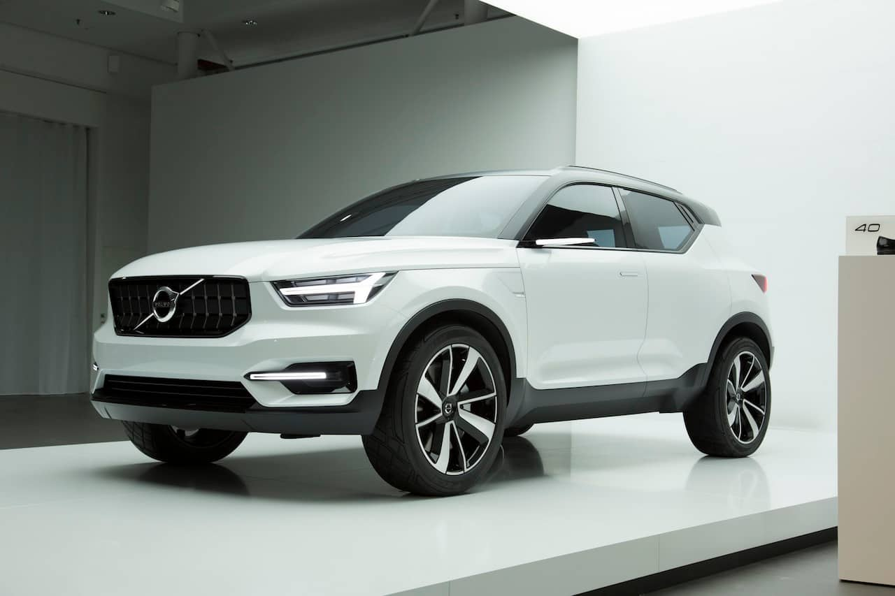 Volvo XC40 small SUV teased to offer a host of