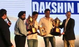 Suresh Rana & Nataraj crowned champions of 2017 Maruti Suzuki Dakshin Dare in car and bike category