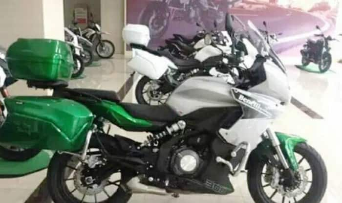 Benelli 300cc Sport Tourer India Launch Likely in 2018; Is this the Benelli TRK 302?