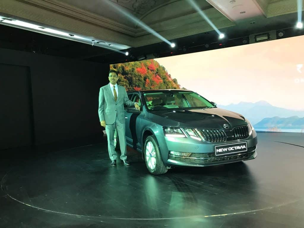 Skoda launches the new model of Octavia at ₹15.49 lakh