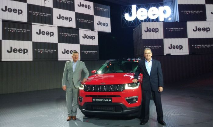 2017 Jeep Compass launched; Price in India starts from INR 14.95 lakh
