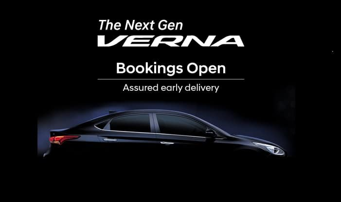 Next Gen Hyundai Verna Unveiled In India; Launch On 22 August
