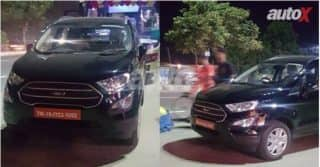 2017 Ford EcoSport Facelift Uncamouflaged Spy Images Surface; India Launch during Diwali
