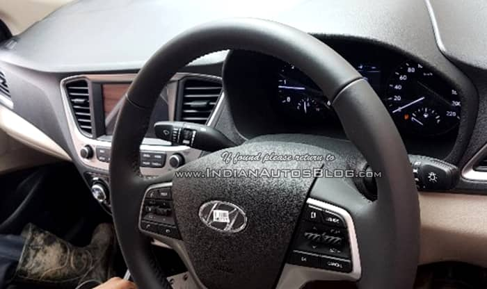 2017 Hyundai Verna Interior Leaked Ahead of India Launch; Likely to be Priced up to INR 14 Lakh